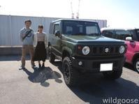祝☆納車 JB64ジムニー、MG22Sモコお買い上げありがとうございます(*¨) - ★豊田市の車屋さん★ワイルドグース日記