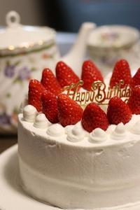 87歳のバースデーケーキ♪ - happy-cafe*vol.2