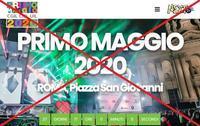 """中止!メーデー「サン・ジョバンニの無料大コンサート2020」@ローマ、5/1恒例コンサート♪"""" ~ Concertone di Piazza San Giovanni:1° Maggio2020 ~ - 『ROMA』ローマ在住 ベンチヴェンガKasumiROMAの「ふぉとぶろぐ♪ 」"""