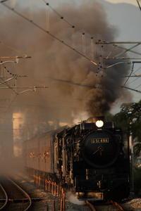 重連西日狙い - 蒸気屋が贈る日々の写真-exciteVer
