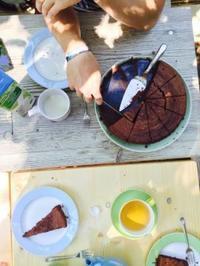 炊飯器ココアケーキ - カリフォルニアママの雑記帳