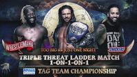 WWEが正式にレッスルマニア36のSmackDownタッグ王座戦をシングルラダー戦に変更 - WWE Live Headlines