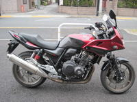 「CB400 SUPER BOL D'OR<ABS>Special Edition」 - バイクの横輪