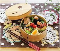 鮭のおにぎり・おばんざい弁当と陽だまりわんこ・リク爆睡♪ - ☆Happy time☆