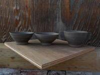 子供用ご飯茶碗とスープカップ(No.186) - 薪窯冬青 犬と山暮らし
