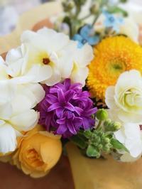 花束  ラナンキュラスラックス❗️ - ブランシュのはなたち