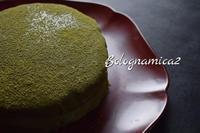 日本を懐かしんで・・・抹茶ケーキ - ボローニャとシチリアのあいだで2
