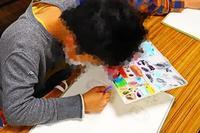 一宮教室、一般コースの石の絵。 - 大﨑造形絵画教室のブログ