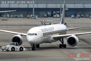 '20年 関西空港レポート ・・・ SIA/9V-SCC - winglets