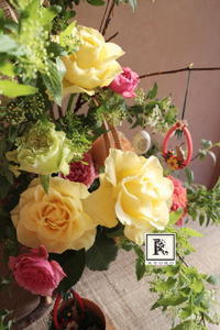 かわいいオーナメントと - Bouquets_ryoko
