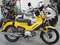 ドラレコ着きクロスカブ中古車 - バイクの横輪