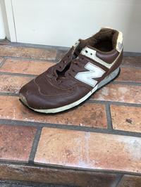 ニューバランス(NB)スニーカーオールソール後編 - Shoe Care & Shoe Order 「FANS.浅草本店」M.Mowbray Shop