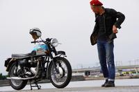 Haya & Triumph T120 Bonneville (2019.11.24/TOKONAME) - 君はバイクに乗るだろう