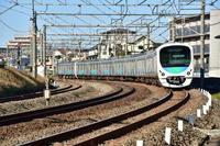 西武30000系 所沢陸橋下にて - 東京鉄道写真局
