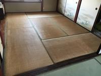 熊本産畳表で畳の入れ替え - 中島産業 畳屋五代目のよしなしごと