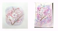 3月レッスンからさくら色々 - リンデンの木陰で。楽しむアート通信