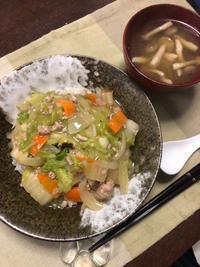 中華丼 - 庶民のショボい食卓