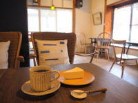 でんえんのちーずけーき:cafe Rural(西目屋村) - 津軽ジェンヌのcafe日記
