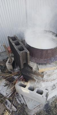 味噌作り - 自然栽培 果樹カナン