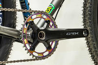 RIDEAより窒化チタン(TiN)コーティングを施したチェーンリングが発売! - 自転車屋 サイクルプラス note
