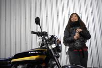 三浦半島ぐるぐるお姉さん & kawasaki Z400FX(2019.11.19/YOKOSUKA) - 君はバイクに乗るだろう