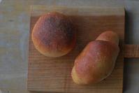 4/12胚芽&ふすま入りパン - 「あなたに似た花。」