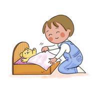 ぬいぐるみベッド - 早未恵理の あそび Tips