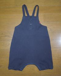 422.EAST BOY (紺)のサロペット - フリルの子供服