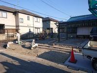 コンクリート施工 20.04.14 - アースグリーン 庭屋二代目日記