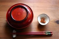 小豆と胡桃のお汁粉 - 満足満腹 お茶とごはん2