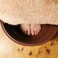 足湯でポカポカ - 台湾式リフレクソロジー(足つぼ)サロン Kiitos