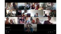 週末、Zoomによるオンライン和食教室第2弾を実施しました。 - 寿司陽子