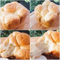 『ちぎりパン1号』 - 埼玉カルトナージュ教室 ~ La fraise blanche ~ ラ・フレーズ・ブロンシュ