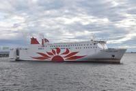 「さんふらわあ こばると」大阪入港その2 - 船が好きなんです.com