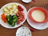 今日のお昼ごはんチーズフォンデュ - Chokopiro39's Blog