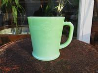 Super Rare !! SuperSpecial !!! Fire King Jade-it Philbe Mug - DELIGHT CLOTHING&SUPPLY