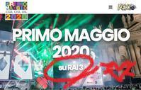 """TV生放送!メーデー「サン・ジョバンニの無料大コンサート2020」@ローマ、5/1恒例コンサート♪""""~Concertone di Piazza San Giovanni:1° Maggio2020~ - 『ROMA』ローマ在住 ベンチヴェンガKasumiROMAの「ふぉとぶろぐ♪ 」"""