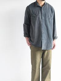 OUTILCHEMISIER HYERES / Charcoal - 『Bumpkins putting on airs』