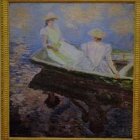 モネの「舟遊び」 - 雲母(KIRA)の舟に乗って