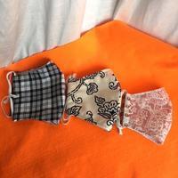 増えていくマスク - 布と木と革FHMO-DESIGNS(エフエッチエムオーデザインズ)Favorite Hand Made Original Designs