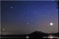 支笏湖で星景写真 - 北海道photo一撮り旅