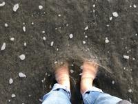 春になると放電がしたくなる素足になって電磁波カット - 海辺のセラピストは今日も上機嫌!