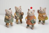 陶器の猫の通販です - 月魚ひろこのときどきブログ