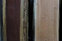 一枚板カウンターパープルハートとブラックチェリー - SOLiD「無垢材セレクトカタログ」/ 材木店・製材所 新発田屋(シバタヤ)