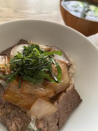 今半レシピの牛丼 - Life Epicure