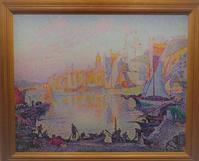 シニャックの「サン=トロペの港」 - 雲母(KIRA)の舟に乗って