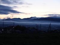 榛名山夕景 (2020/4/20撮影) - toshiさんのお気楽ブログ