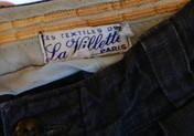 """men's Linen Pants """"la  villette - carboots"""