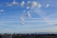 二重雲(巻雲) - 日々の風景