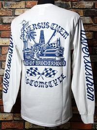 KUSTOMSTYLE×USVERSUSTHEM ロングスリーブTシャツbond of brotherhood II long sleve tee 再入荷 - ZAP[ストリートファッションのセレクトショップ]のBlog